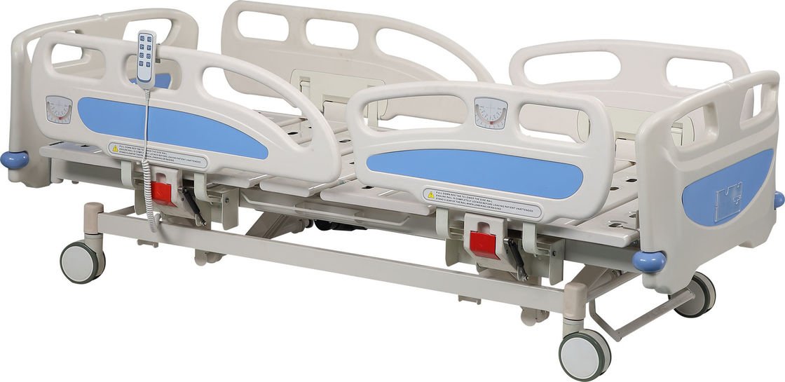 Medical Remote Hospital Bed With Best Service , Electric Adjustable Beds