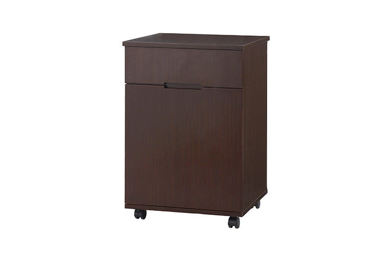 Wooden Hospital Bedside Cabinet , 500 * 400 * 650mm Hospital Cabinets Furniture