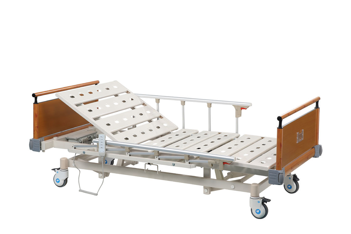 Electric Icu Bed With Detachable Aluminum Alloy Head And Foot Board